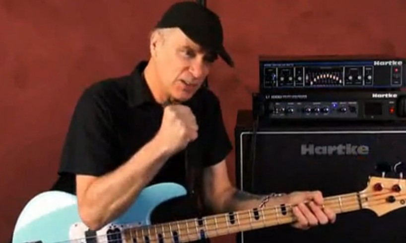 Billy Sheehan Talking About Hartke AK410
