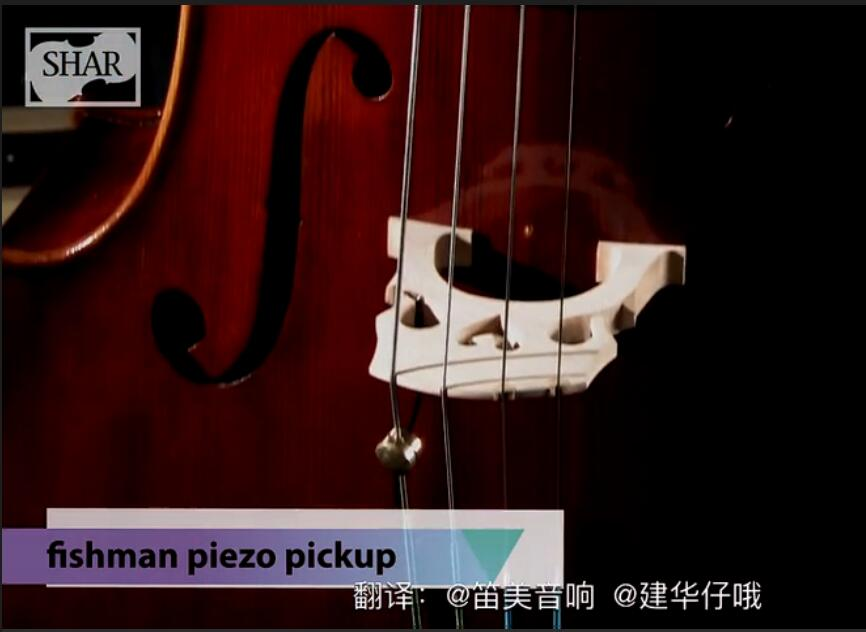 FISHMAN Concert Series Violin 拾音器